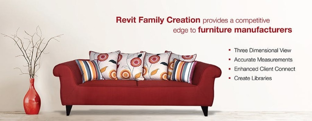 Benefits of Revit Family Creation in 3D BIM for Furniture Ma... via Hitech CADD Services