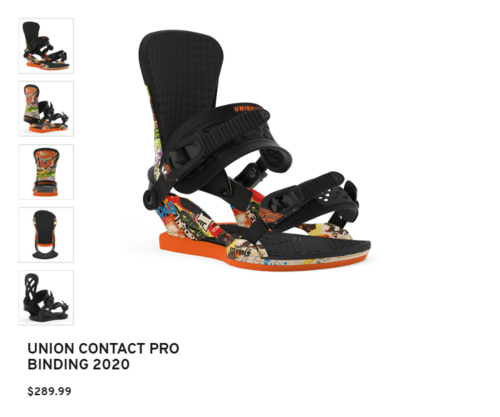 Union Force Bindings via Jesse Hart