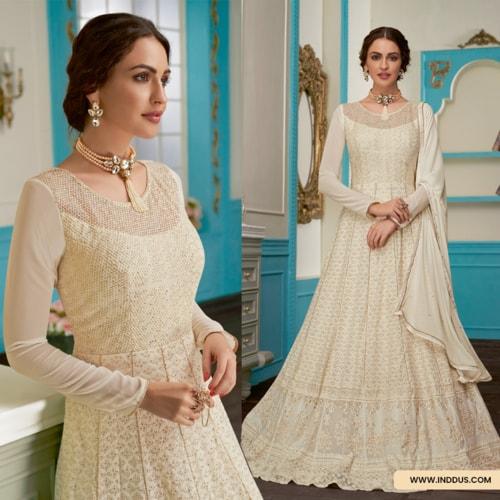 Gown Style Suits Online Shopping via Sagar Singh