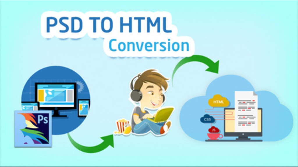 Get PSD to HTML Conversion Services Company in India via Atul Chaudhary