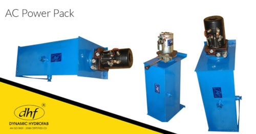 Dynamic Hydrofab - Hydraulic Cylinders Manufacturer, Supplier and Exporter: Ac Power Pack to Get the Task Done Phenomenally in Your Industrial Space
