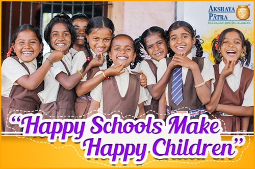 Online Donation For Children | Pledge To Feed The Children via Akshaya Patra