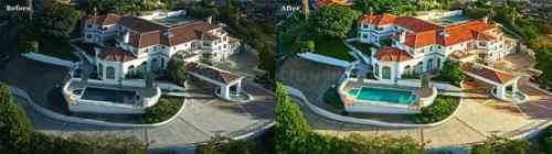 Aerial Photo Editing via Graham Smith