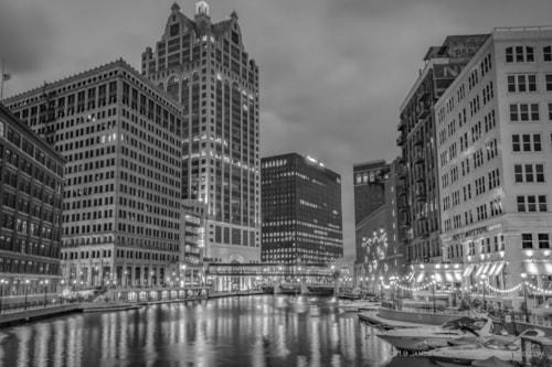 Milwaukee Riverwalk via JamesMeyerMedia