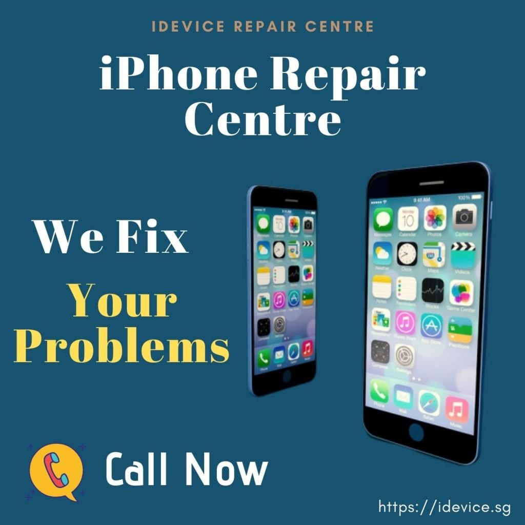 Get the Best iPhone Repair Service at an Affordable Price                                         #i... via iDevice Repair Center Singapore