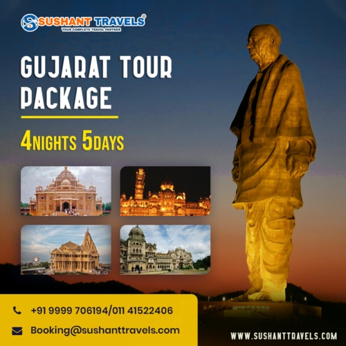 ☑️ GUJARAT TOUR PACKAGES ☑️                                                                          Make Your Tour Memorable                                     Custom... via joymartin