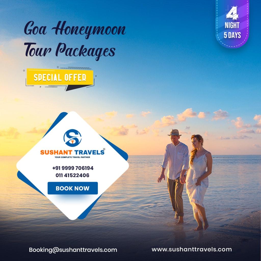 Goa Honeymoon Packages via joymartin
