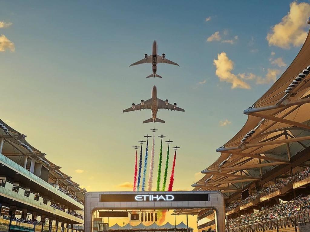 Etihad Airways via Rubina Parveen