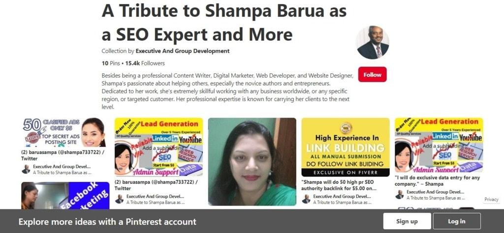A Tribute to Shampa Barua via Etienne A. Gibbs