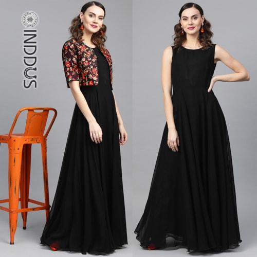 Gown via Sagar Singh