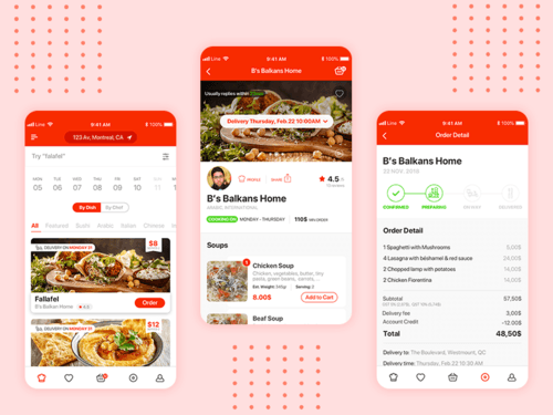 15 Things To Consider While On Demand Food Delivery App Development