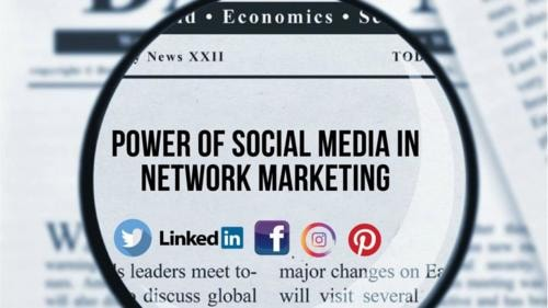 Leveraging the power of social media in Network Marketing - MLM success