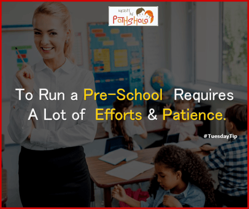 To take a pre-school franchise, you should have a passion fo... via Pathshala Masti Ki