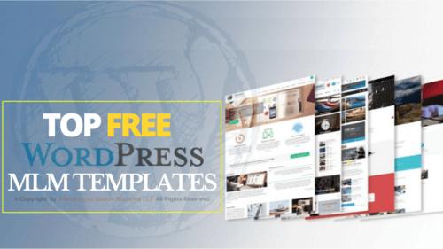 Top Free WordPress MLM Templates - MLM Blogs