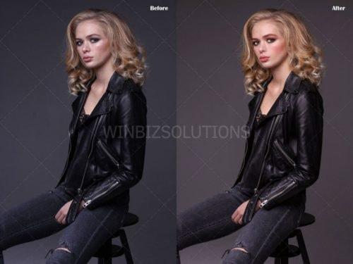 Fashion Photo Editing via Graham Smith