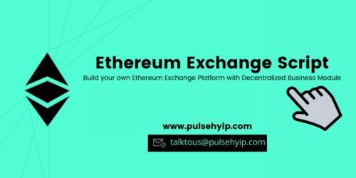Ethereum Exchange Script