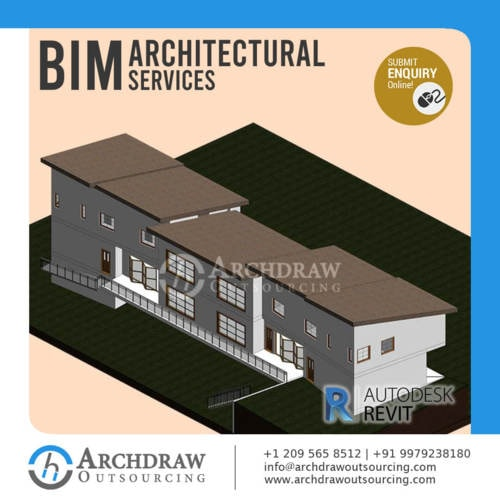 Get the best quality Architectural BIM Services from BIM Exp... via Archdraw Outsourcing