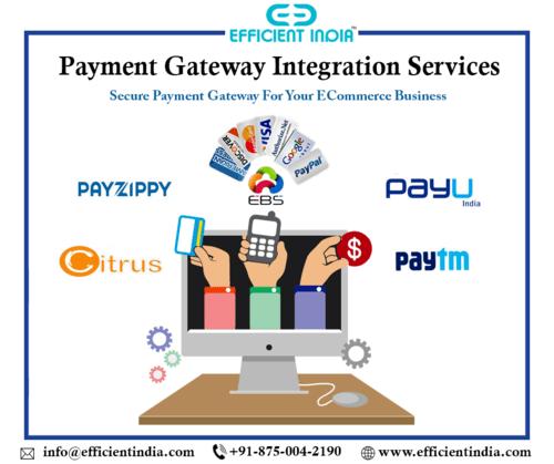 #EfficientIndia offers secure #PaymentGatewayIntegration ser... via Efficient India