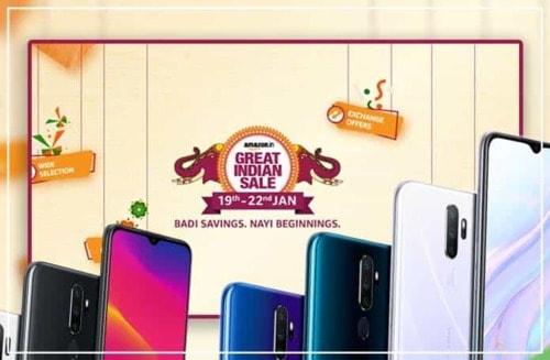 Amazon Great Indian Sale: Offering the Big Discounts on Smartphones