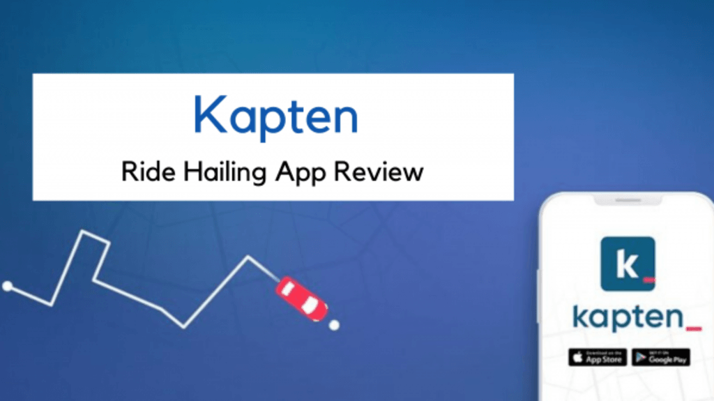 Kapten is the cheapest and most efficient ride hailing servi... via Infinite Cab