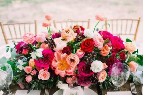 Making your own wedding flower arrangements via John Williams