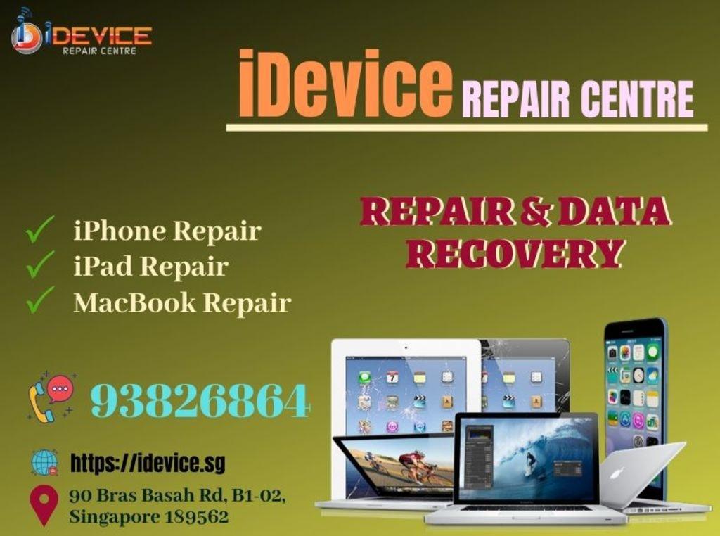 iDevice Repair Centre - iPhone, iPad, MacBook Repair Centre ... via iDevice Repair Center Singapore