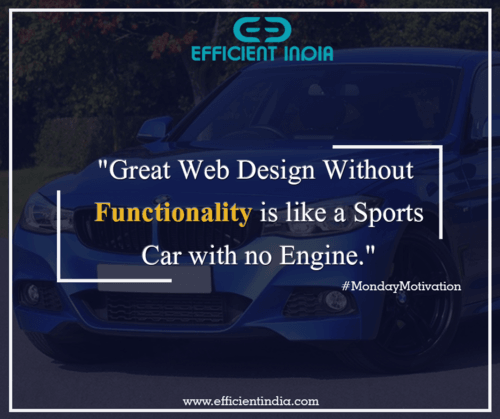 Today's Monday Motivation is to build a fully functional web... via Efficient India