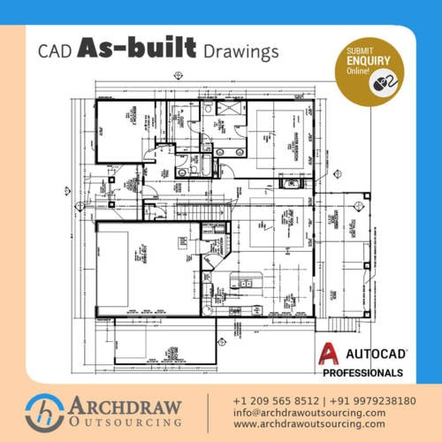Looking for high quality and advanced CAD As-built Drawing S... via Archdraw Outsourcing