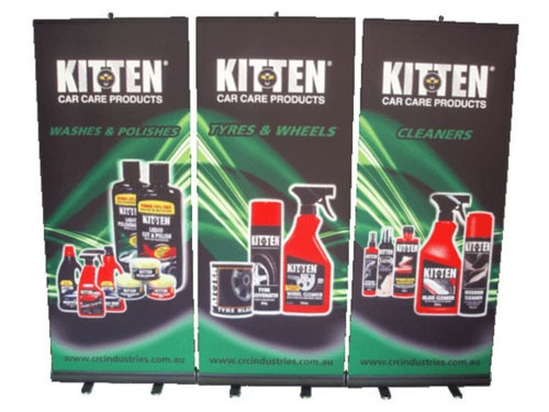 Exhibition hanging signs                                                                          Exhibition hanging signs and stand... via All Star Display