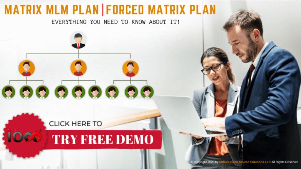 Matrix MLM plan is a popular MLM compensation plan among the... via Infinite MLM Software
