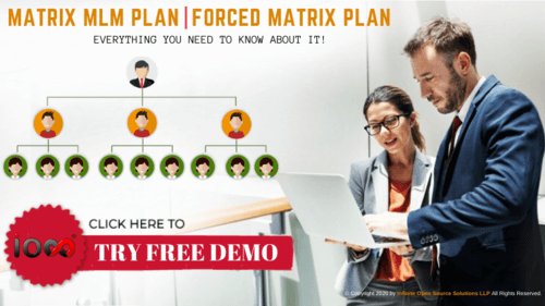 Matrix MLM plan is a popular MLM compensation plan among the... via Infinite MLM Software