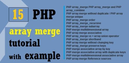 PHP Array Interview Questions via Priyag Chaudhary