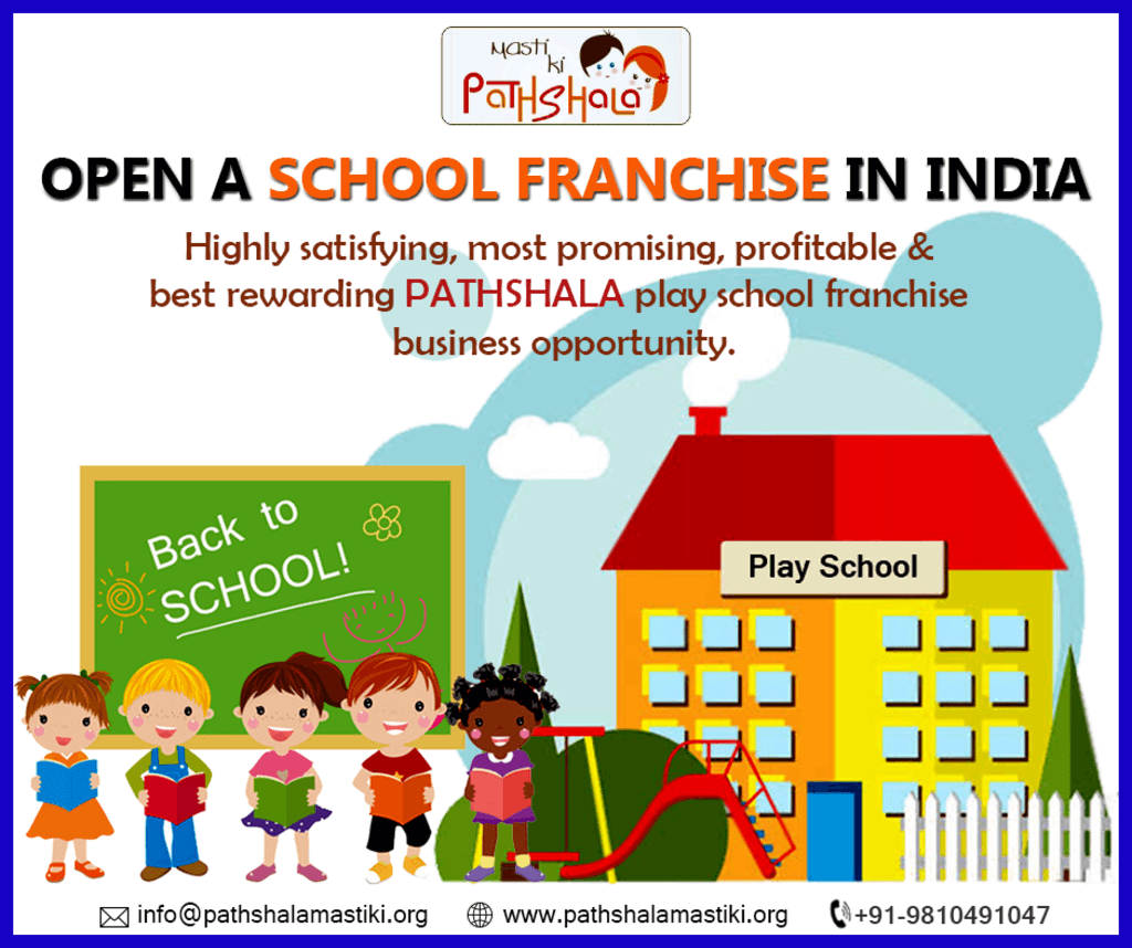 Opening a #PreschoolFranchise in #India is quite a convenien... via Pathshala Masti Ki