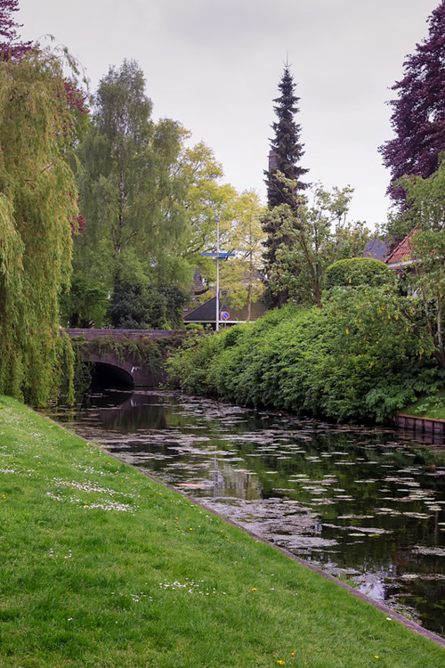A small bridge at the town of Bussum in the Netherlands. The... via Jukka Heinovirta