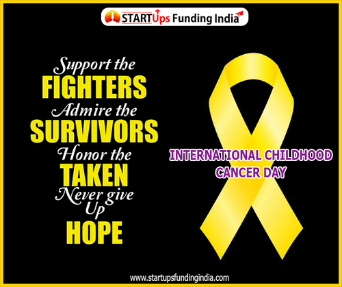 International Childhood Cancer Day is celebrated annually on... via Startup Funding India