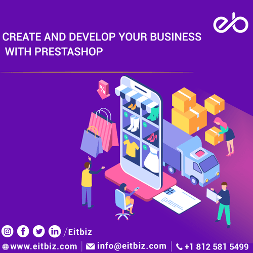 Prestashop Application Development Agency Indianapolis, USA via EitBiz