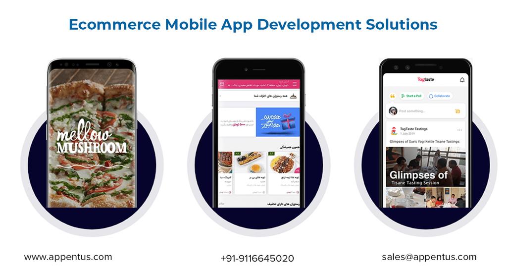 Ecommerce Mobile App Development Company via Appentus Technologies