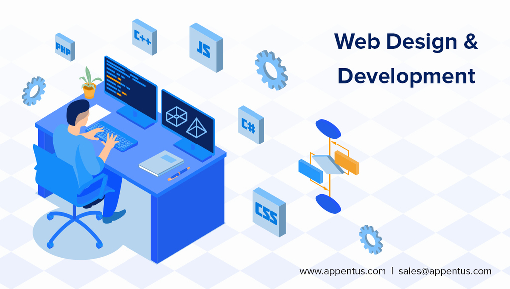Website Design and Development Company via Appentus Technologies