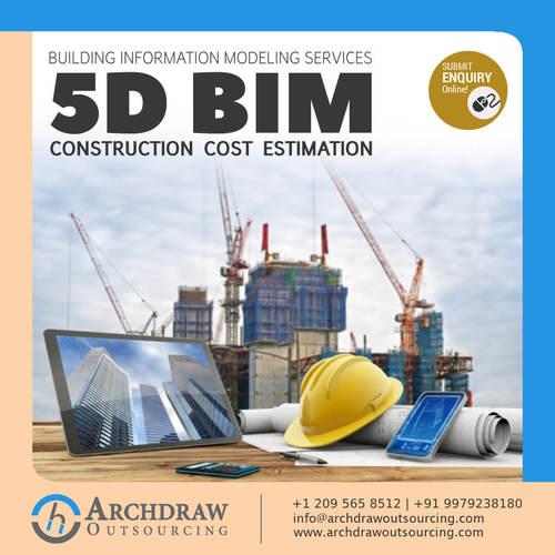 Get the 5D BIM Construction cost estimation Services via C.Chudasama