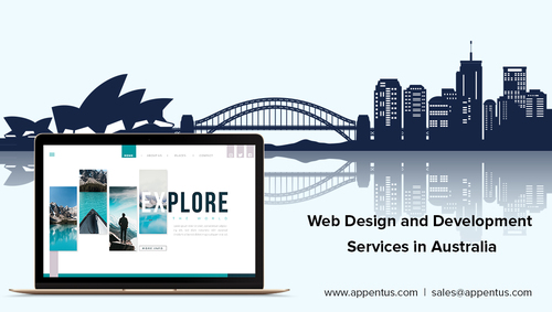 Website Design and Development Services in Australia via Appentus Technologies