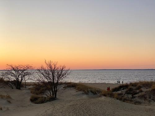 Winter Beach via Steven Hughes
