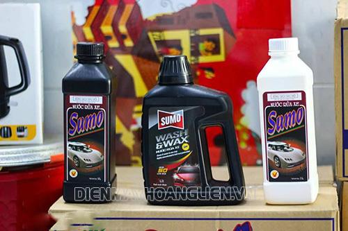 Nước rửa xe Sumo dùng có tốt không?