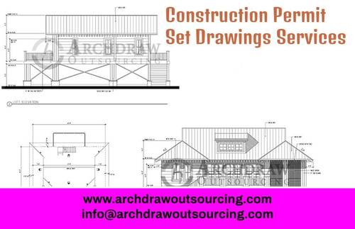 Get the best and high-quality construction permit set drawin... via C.Chudasama