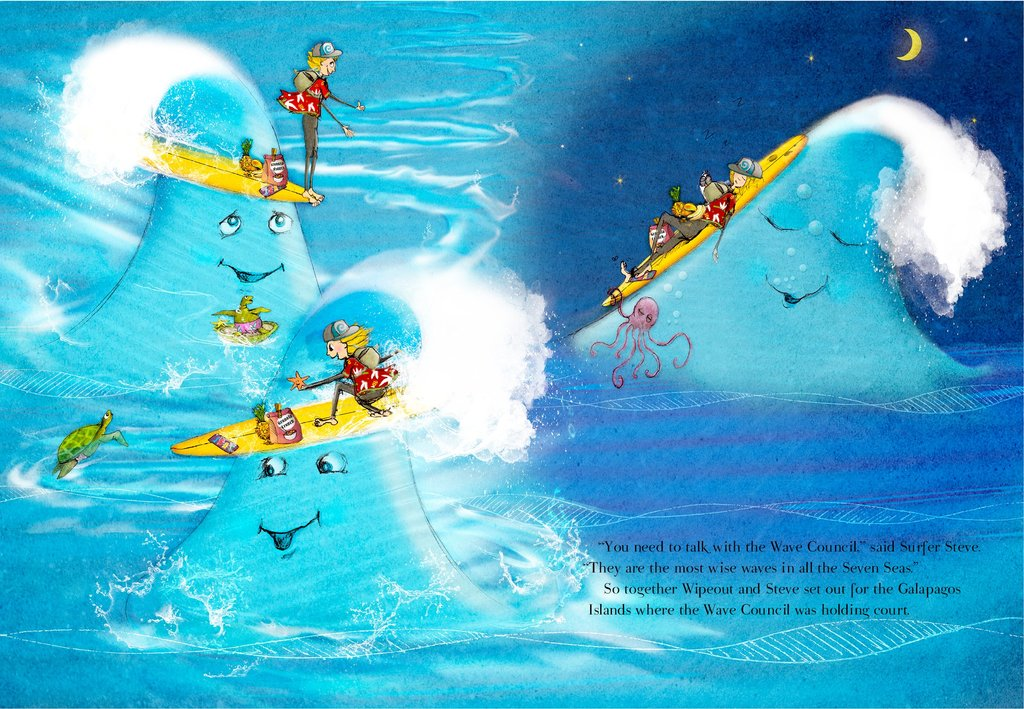 Best Ocean and Surf Story for Kids                                                                                  Looking for books to rea... via Billy Baldwin