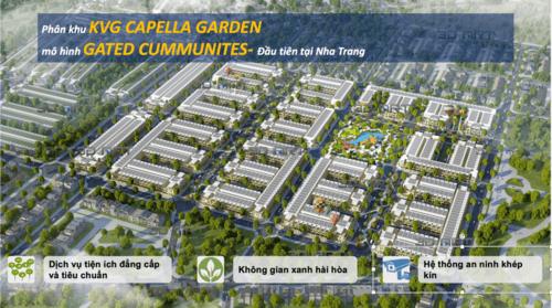 """Dự án KVG The Capella Garden - Khu đô thị """"Biểu Tượng1️⃣"""" Nha Trang"""