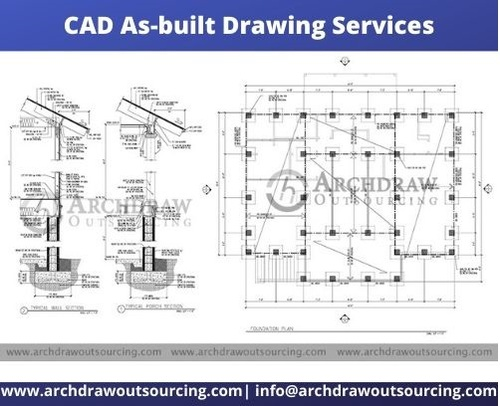 CAD As-built Drawing Services – Archdraw Outsourcing via C.Chudasama
