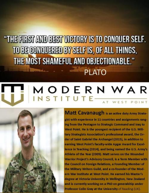 Experienced Young Military Professionals Discuss The Future ... via Ken Larson