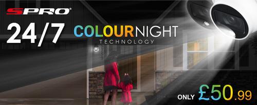 SPRO - COLOURNIGHT TECHNOLOGY 📣📣📣                                     24/7 colour image - tur... via Benson Chiang