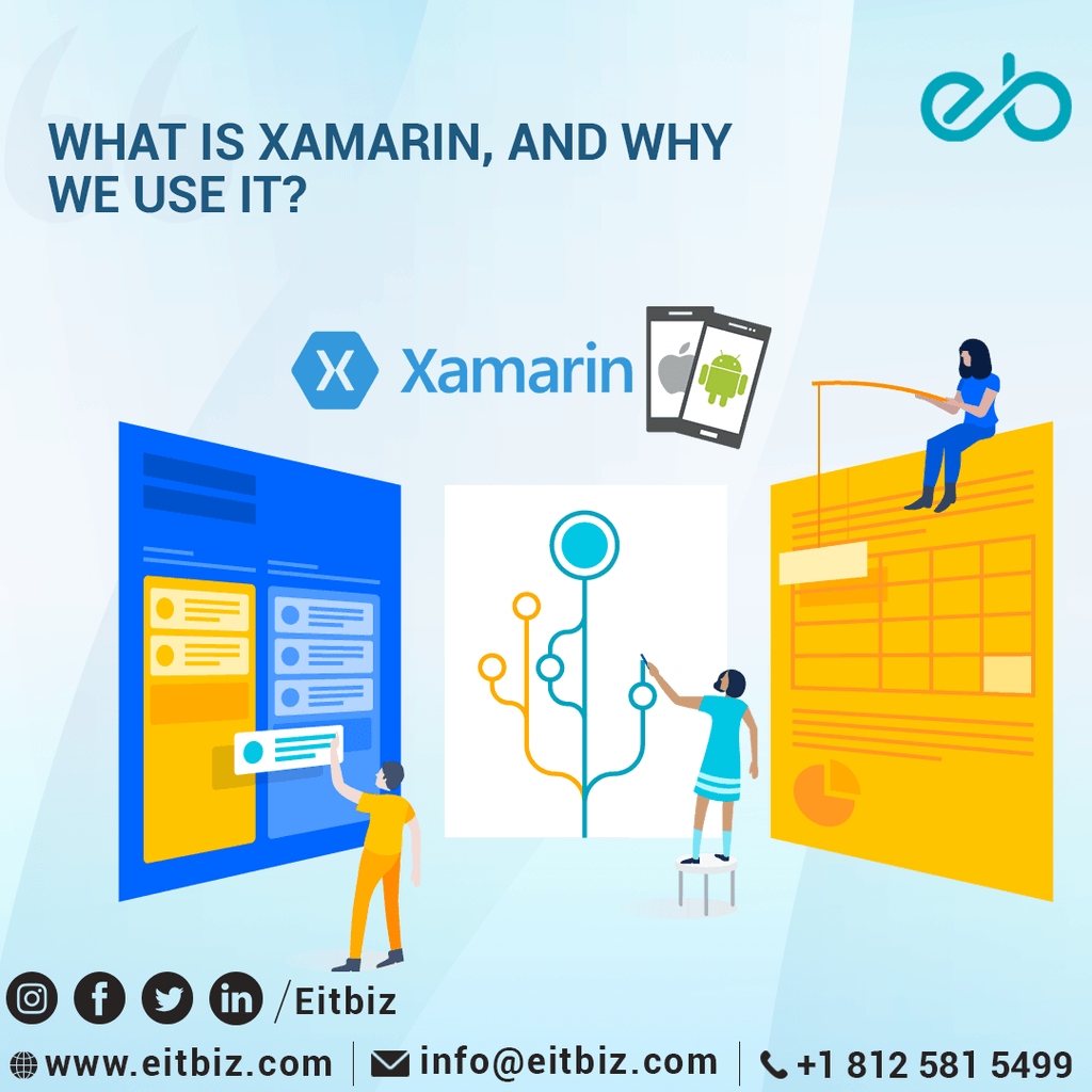 Xamarin Apps Development Agency Indianapolis, USA via EitBiz