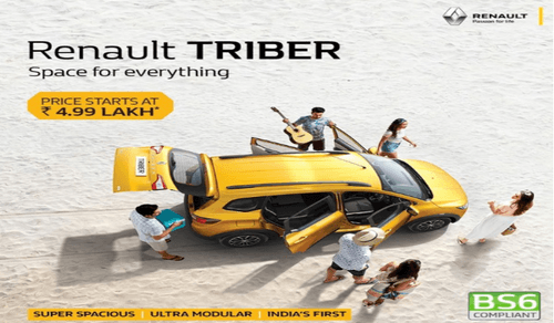 Get Ready for Effortless Driving with Renault TRIBER via Manas Sharma